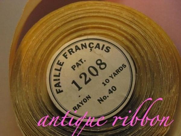 French vintage ribbon
