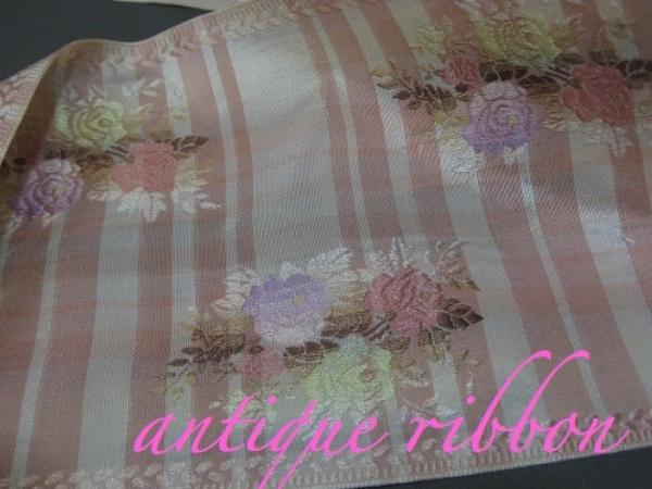 Floral vintage ribbon