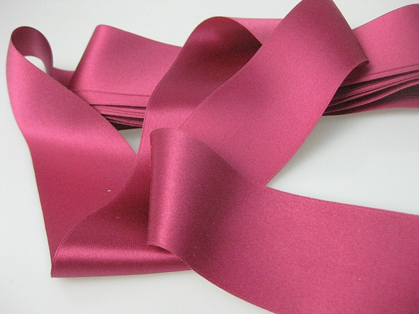 Victorian era silk ribbon