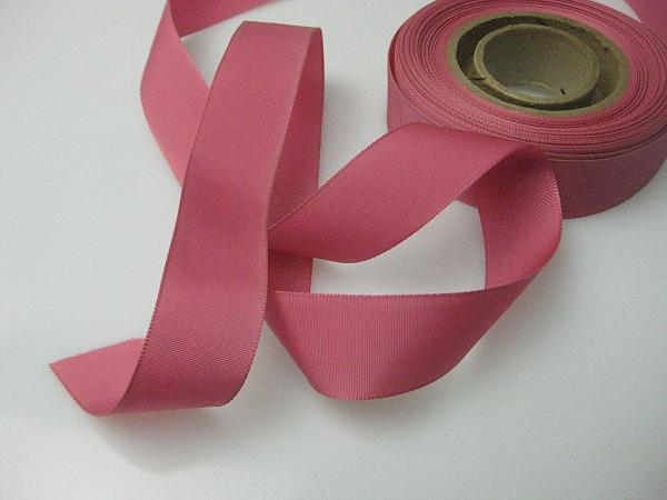 blush pink faille ribbon