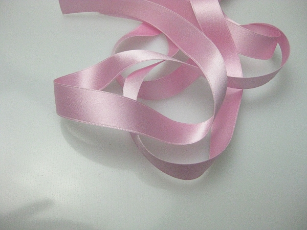 antique pink silk ribbon