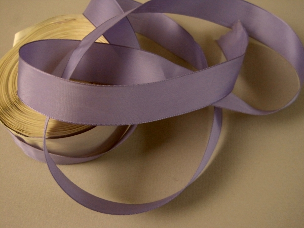 lavender faille ribbon