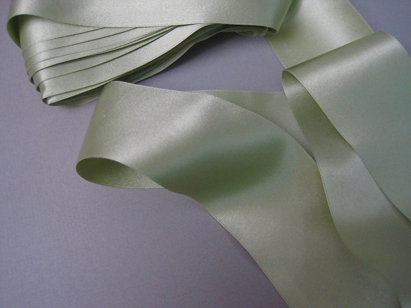 Sage green ribbon