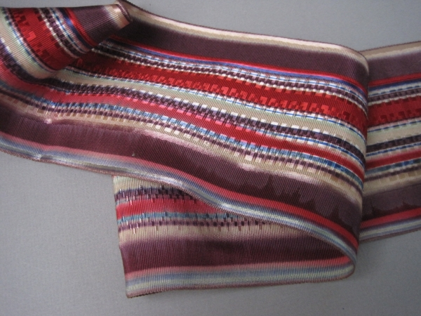 Victorian striped ribbon