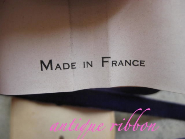 Vintage Ribbon made in France