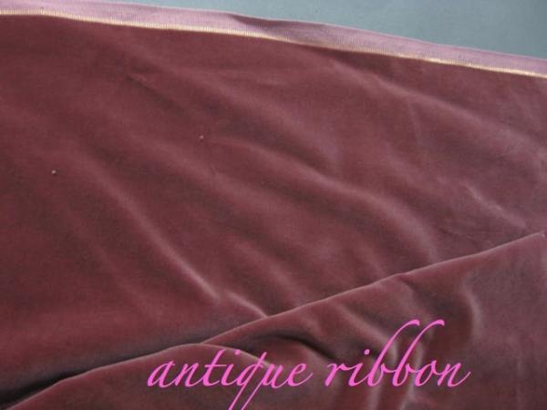 vintage velvet mauve