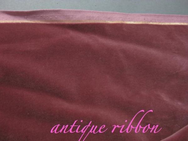 vintage velvet mauve 34 inch