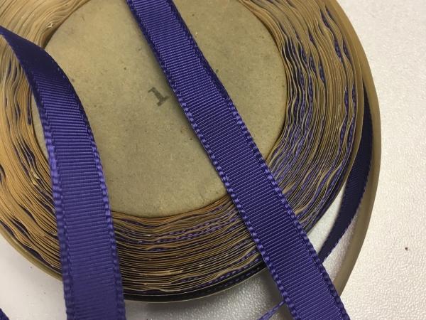 Narrow blue ribbon