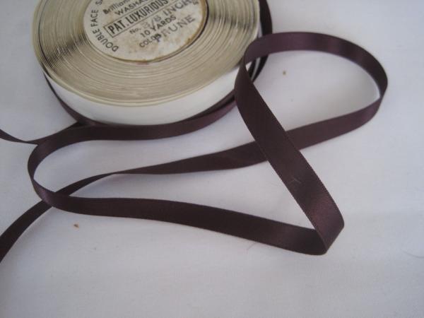 Deep Eggplant ribbon