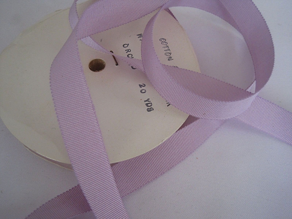 Lavender Petersham ribbon