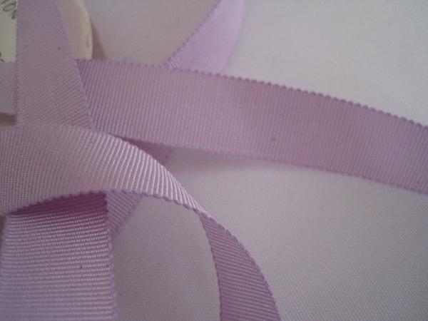 Vintage lavender Petersham ribbon