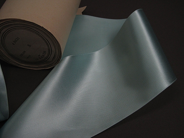 wide aqua ribbon