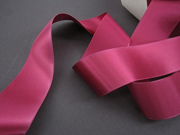 Vintage rose pink ribbon