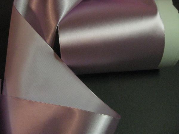 Vintage 30s wide pink sash ribbon