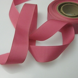 blush pink faille ribbon