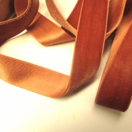 Silk cotton velvet ribbon