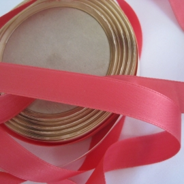 Rose pink fabric ribbon