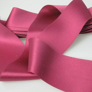 Antique Victorian silk ribbon 1900s wide silk ribbon 2 inches wide P056