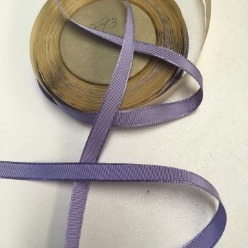 Vintage lavender grosgrain ribbon narrow width rayon 3/8 inch W