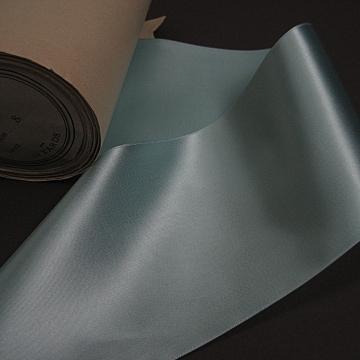 Vintage 30s aqua fabric ribbon rayon 4 inch wide